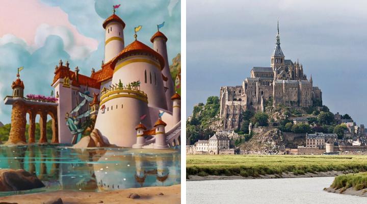 ปราสาทของเจ้าชาย Eric คือ Mont Saint-Michel