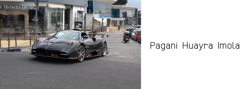 Pagani Huayra Imola
