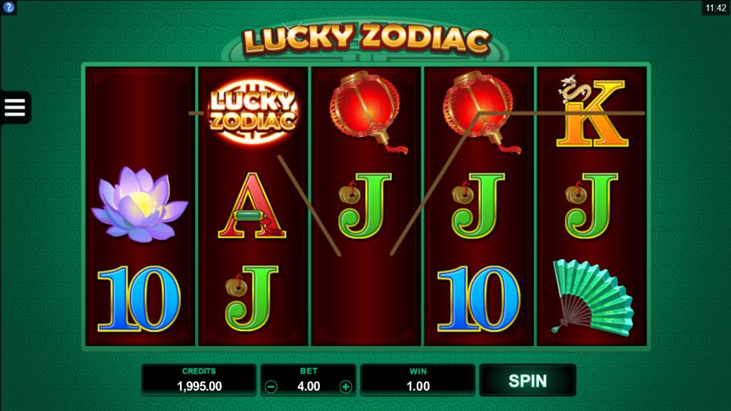 เกมสล็อตออนไลน์ Lucky Zodiac