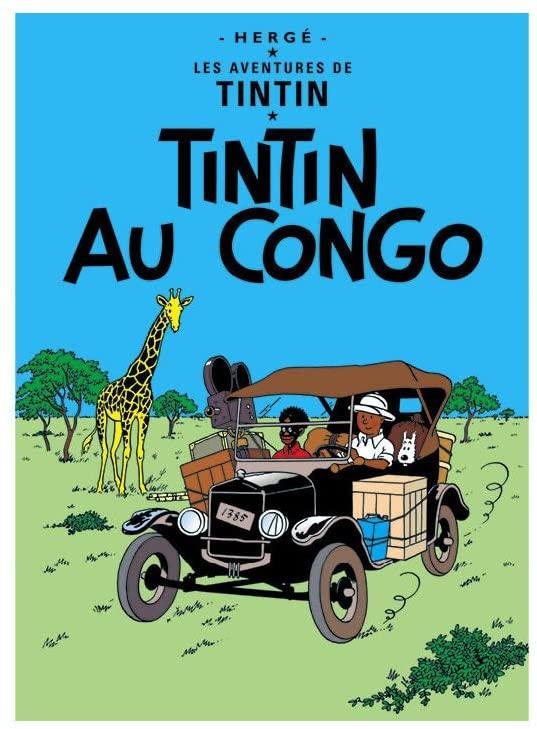 Tintin au Congo 1930, Hergé