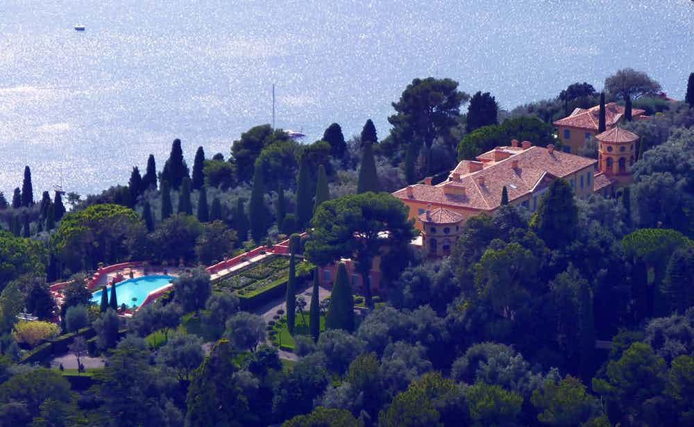 Villa Leopolda จัดอันดับ บ้าน 10 หลัง
