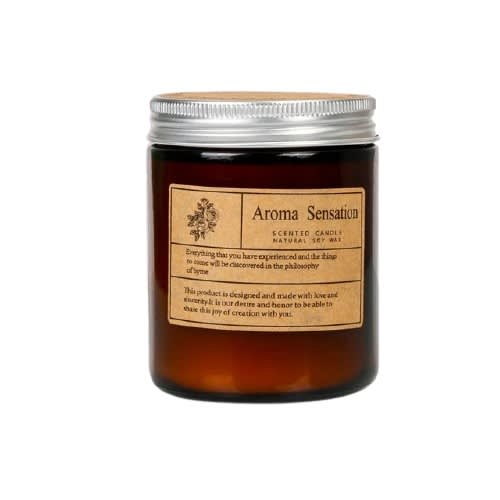 scented candle aromatic candle soy wax essential